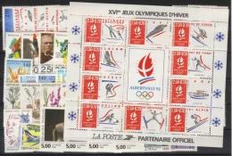 1992  Année Complète 48 Tp Neuf Luxe ** 1992 - France