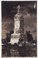 Argentina - Buenos Aires Monumento De Los Espanoles Statue C1910s RPPC Real Photo Postcard - Argentina
