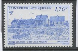 SPM  N°541 Images Du Passé. 2f.50 Rouge L' île Aux Marins ZC541 - St.Pierre Et Miquelon