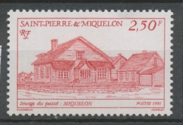 SPM  N°539 Images Du Passé. 1f.70 Bleu Miquelon ZC539 - St.Pierre Et Miquelon