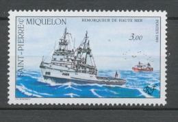 SPM  N°510 Flotte De Saint-Pierre-et-Miquelon 3f Remorqueur De Haute Mer ZC510 - St.Pierre & Miquelon