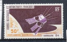 T.A.A.F Aérien 1966 N°12 Satellite D1 N** ZT138A - Posta Aerea
