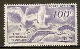 A. O. F.     Aéros  -    1947  -   Y&T N° 13 **.   Cigognes En Vol - A.O.F. (1934-1959)