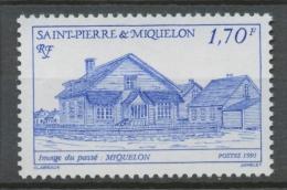 SPM  N°543 Images Du Passé. 2f.50 Rouge Miquelon ZC543 - St.Pierre Et Miquelon