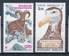 T.A.A.F Aérien 1985 N°86-87 Série Faune Antarctique.  N** ZT194A - Poste Aérienne