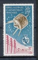 T.A.A.F Aérien 1965 N°9 Centenaire Union Internationale Des Télécommunications N** ZT136A - Posta Aerea