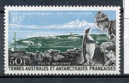 T.A.A.F Aérien 1968 N°14 Port-aux-Français (Kerguelen) N** ZT140A - Posta Aerea