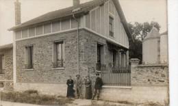 94 LA VARENNE - ST MAUR DES FOSSES - CPA PHOTO Maison Et Ses Habitants - Verso Scanné - Saint Maur Des Fosses