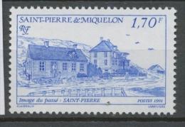 SPM  N°544 Images Du Passé. 2f.50 Rouge Saint-Pierre ZC544 - St.Pierre Et Miquelon