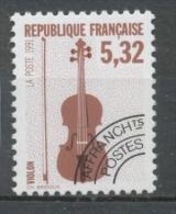Préos N°223 Instruments Musique 5 F 32 Bruen Et Noir (212) ZP223 - Préoblitérés