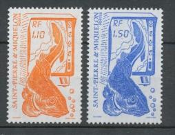 Saint-pierre Et Miquelon N°480A Série La Pêche. 2 Valeurs ZC480A - St.Pierre Et Miquelon