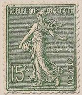 Type Semeuse Lignée De Roty 15c. Vert-gris (I) Y130 - Neufs