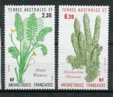 T.A.A.F 1986 N°118-119 Série Flore Antarctique N** ZT64A - Terres Australes Et Antarctiques Françaises (TAAF)