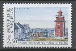 SPM  N°563 Les Phares 2f50 Ancien Phare Du Feu Rouge; St-Pierre ZC563 - St.Pierre & Miquelon