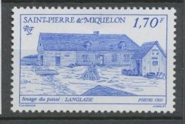 SPM  N°542 Images Du Passé. 2f.50 Rouge Langlade ZC542 - St.Pierre Et Miquelon