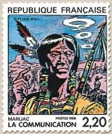 La Communication. Marijac  2f.20 Multicolore Y2505 - France