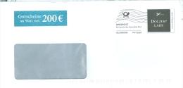 BRD Hamburg Infopost Allemagne FRW Dolzer Lady Masskonfektion Schneiderschere - Textil
