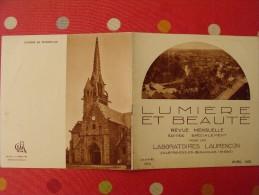 Mensuel Photographie Lumière Et Beauté. N° 4.  1933. Lannion Kergunteuil Brélevenez Tonquédec Kerfaoufz Kerfons - Livres, BD, Revues
