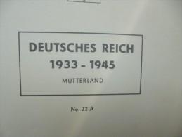 3eme Reich Belle collection oblit�r�e + quelques Blocs (voir description)