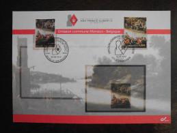 Belgi� Belgium - Monaco 2012 gemeenschappelijke uitgifte / joint issue Jan Brueghel herdenkingskaart / special card