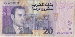 Billet   20  Dirhams - Maroc