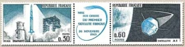 Lancement Du Premier Satellite National, à Hammaguir (Sahara) Le Triptyque Y1465A - France