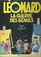 10 - LEONARD - LA GUERRE DES GENIES ( TURK & DEGROOT ) - Léonard