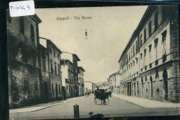 EMPOLI  VIA  ROMA  1910  VIAGGIAA - Empoli