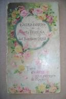 PCI/30 Calendario Di SANTA TERESA Del BAMBINO GESU´ 1930 - Calendari