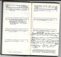 L'agenda 1933 Publié Par La Jeunesse Estudiantine Catholique. Aide-mémoire En Mathématique, Latin, Physique, ... - Calendriers