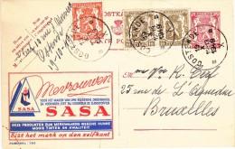 PUBLIBEL 790 - MEVROUWEN - KLEDING  MAKEN - SASA - + 25 Centiem : OOSTENDE 1949 - Publibels