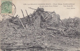 Belgique -  Ramscapelle - Ruine D'une Ferme - Cachet Militaire Cachet - Non Classés