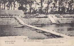 Belgique -   Nieuport - Passerelle - Correspondance De Guerre Intéressante - Militaire - Nieuwpoort
