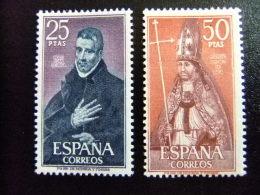ESPAÑA SPAIN ESPAGNE 1970 Personnages (Juan De Avila -Rodrigo Ximenez)  - Edifil Nº 1961/1961 Yvert Nº 1610 / 1611 **MNH - 1931-Aujourd'hui: II. République - ....Juan Carlos I
