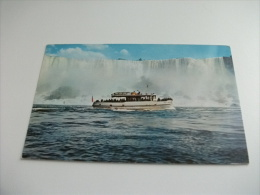 NAVE SHIP MAID OF THE MIST CASCATE NIAGARA - Chiatte, Barconi