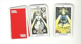 JEU DE  TAROT DIVINATOIRE  PUBLICITAIRE    FEMME ACTUELLE    1997 - Other Collections