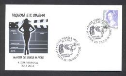 6.- 042  ITALY ITALIA 2013. VIGNOLA AND THE CINEMA. - Cinéma