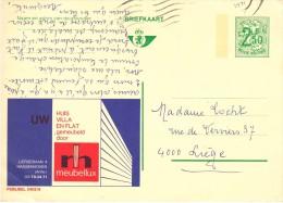 PUBLIBEL 2402 N  -  MEUBELEN / MEUBLES - MASSENHOVEN - Stamped Stationery