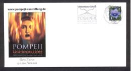GERMANY 2012. SPECIAL POSTMARK. POMPEII. VESUVIUS VOLCANO. VOLCAN. VULKAN. VULKAAN - Volcans