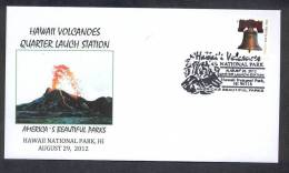 UNITED STATES OF AMERICA 2012. SPECIAL POSTMARK. VOLCANOES OF HAWAII - Volcans