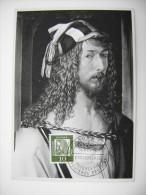 1961    Albrecht Dürer       BONN 1 DEUTSCHE   GERMANY    MAXIMUM     COVER  PREMIER JOUR  FDC FIRST DAY - Malerei & Gemälde