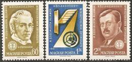 Ungheria 1961 MNH**  -  Yv. 1452/54 - Ungheria