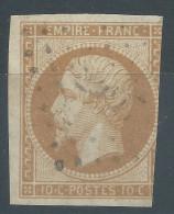 Lot N°26646   N°13A, Oblitéré PC - 1853-1860 Napoleon III