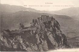 ROQUEFIXADE Près LAVELANET - 09 - Le Chateau Et Le Mont Fourcat - ENCH - - France