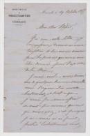 LOT DE 16  MANUSCRITS 1855 SOCIÉTÉ NOUVELLE Des FORGES Et CHANTIERS De MÉDITÉRRANÉE - SIGNÉ GUELDRY - TOUS SCANNÉS - - Manuscrits