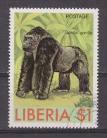 Liberia Used ; Gorilla 1983 - Gorilla's