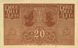 ROMANIA P. M6 20 L 1917 UNC - Romania