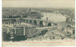 CP 31 Toulouse  Vue Générale Sur La Garonne  A De Faub St Cyprien - Toulouse