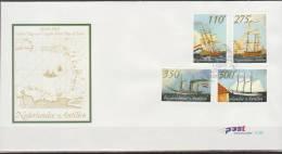 Nederlandse Antillen, 2001, Ships, Tallships, E325, FDC - Barche