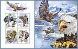 st14309ab S.Tome Principe 2014 Eagles 2 s/s